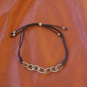 Adjustable Silpada bracelet